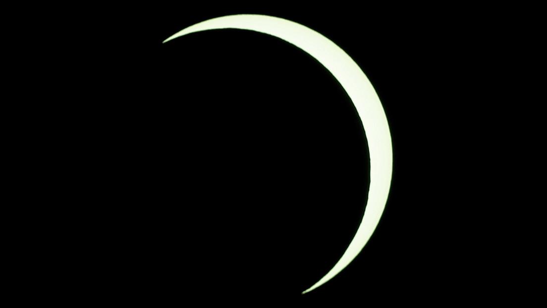 VIDEO: La NASA publica una visualización del paso por la Tierra del eclipse solar del próximo 10 de junio