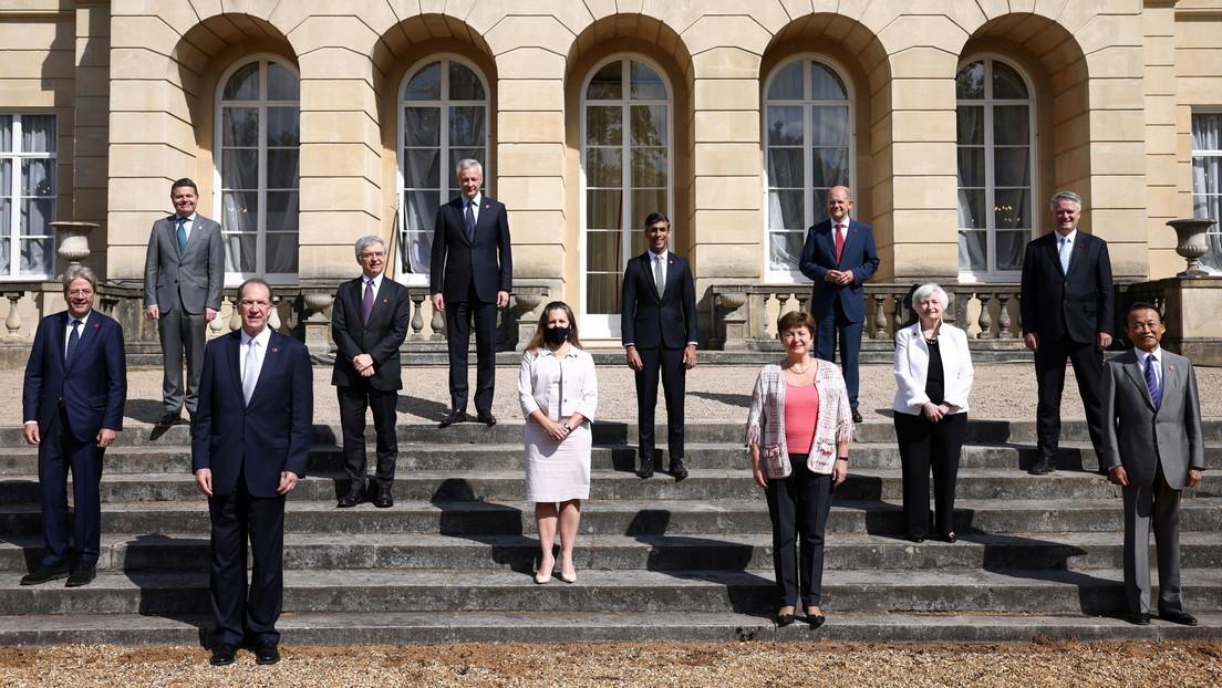 """El G7 llega a un acuerdo """"histórico"""" sobre un impuesto mínimo global a las multinacionales: ¿en qué consiste?"""