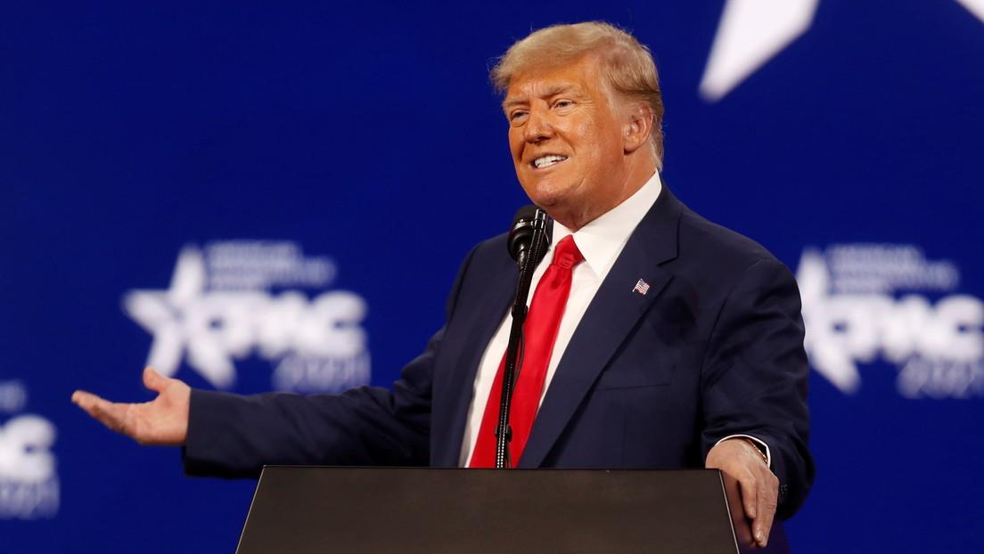 """Trump promete retomar el control de la Casa Blanca y ambas cámaras del Congreso """"antes de lo que se piensa"""""""
