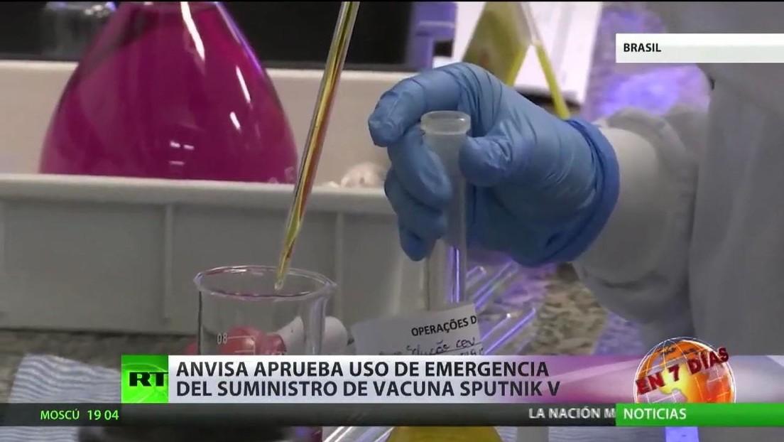 Argentina y Serbia inician la producción masiva de Sputnik V, y Brasil planea producir al menos 8 millones de dosis del fármaco al mes