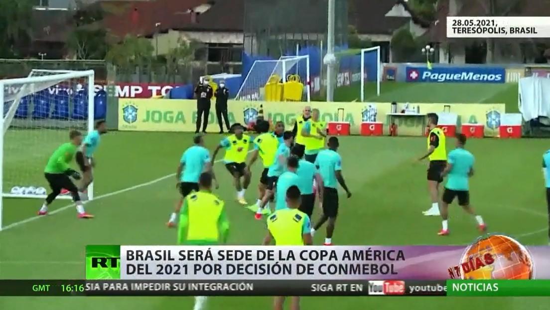 Brasil se divide tras la decisión de celebrar la Copa América en el país