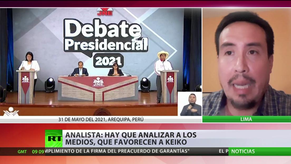 Analista de las elecciones en Perú subraya el papel de los medios en favor de Fujimori