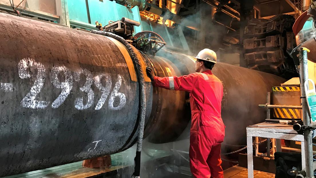 """Antony Blinken reconoce como """"hecho consumado"""" la compleción del gasoducto Nord Stream 2"""