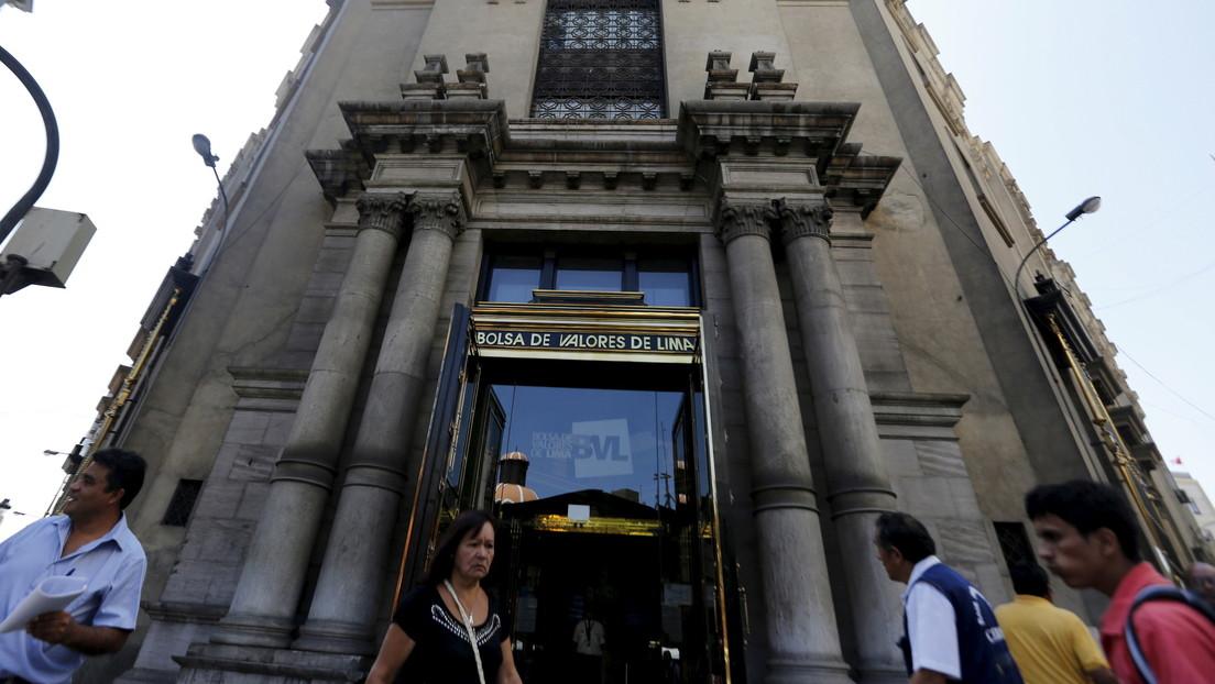 La Bolsa de Lima se desploma y aumenta el valor del dólar en Perú por la incertidumbre de los resultados electorales