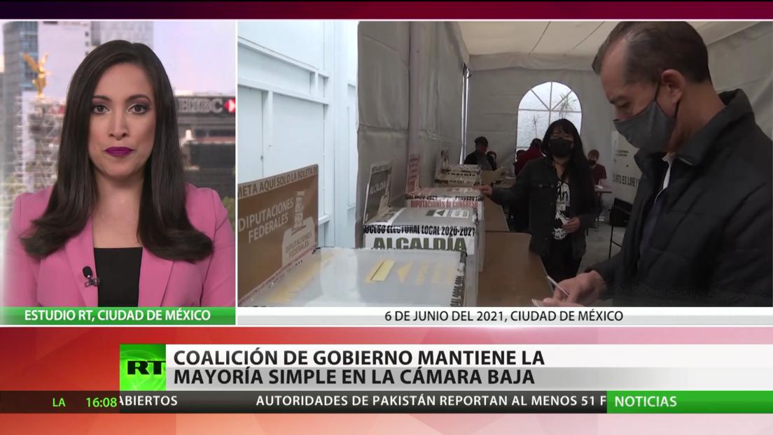 El partido Morena mantiene la mayoría simple en la Cámara de Diputados en las elecciones intermedias de México