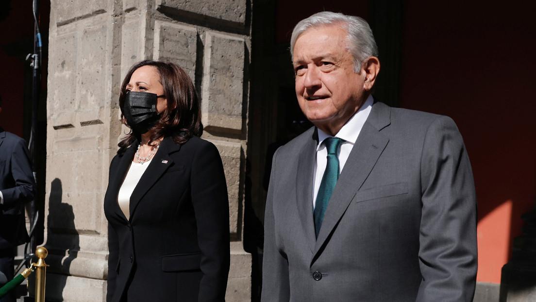 Migración, desarrollo en Centroamérica y el tema 'vetado' por México: los ejes de la reunión entre López Obrador y Kamala Harris