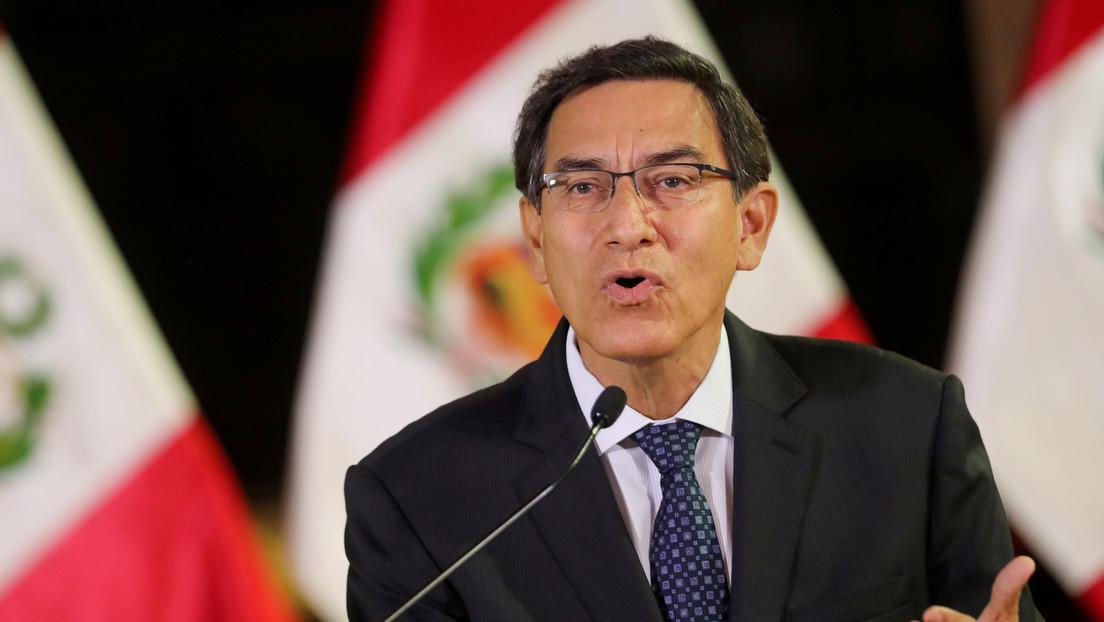 """Martín Vizcarra llama a """"respetar la voluntad popular"""" en las elecciones de Perú y a """"no generar divisiones"""""""