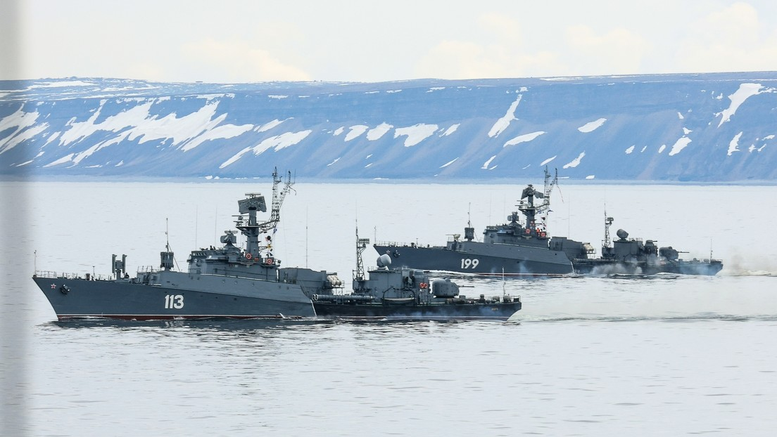 La Flota del Norte rusa zarpa al mar de Barents en medio de los ejercicios del Arctic Challenge en el que participan países de la OTAN