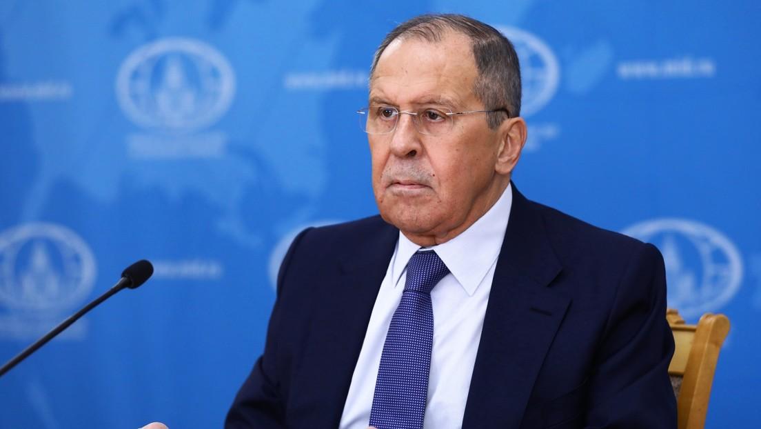 """Lavrov: """"Rusia no tiene ambiciones de superpotencia ni fervor mesiánico para imponer sus valores al mundo"""""""