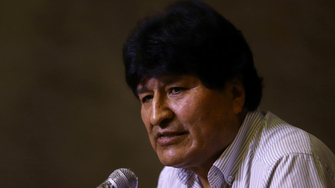 Evo Morales felicita a Pedro Castillo por su eventual victoria en los comicios de Perú