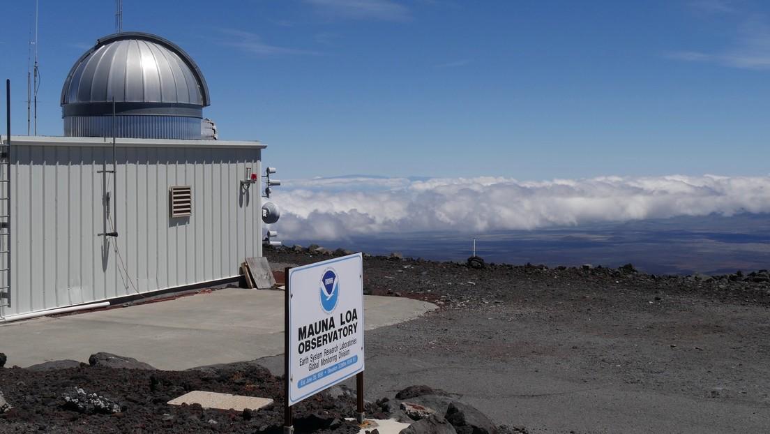 Mayo registró el nivel más alto de CO2 en la atmósfera desde que comenzaron a medirlo