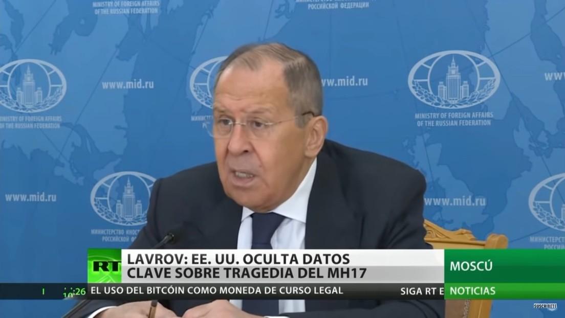 Rusia acusa a EE.UU. de ocultar datos clave sobre la tragedia del vuelo MH17