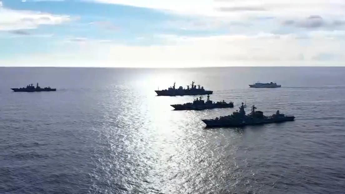 VIDEO: Rusia lanza un ejercicio naval sin precedentes en la parte central del Pacífico