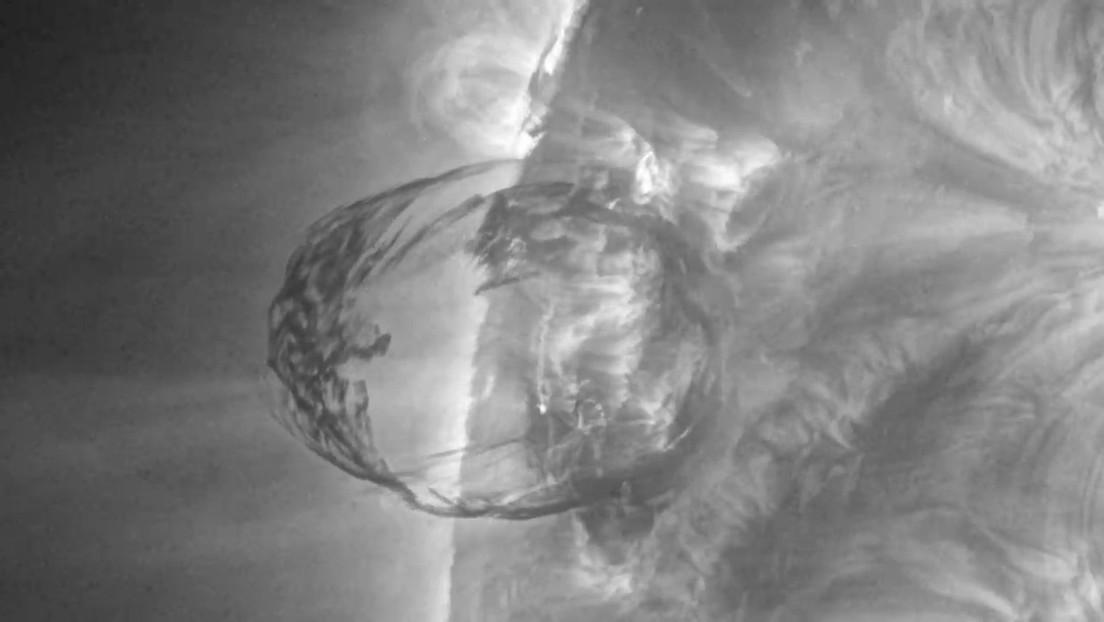 La NASA investiga una enorme explosión nunca antes vista en el Sol (VIDEO)