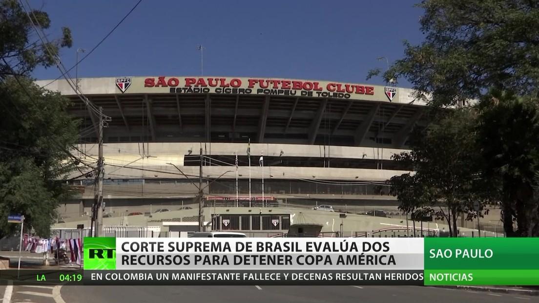 La Corte Suprema de Brasil evalúa dos recursos para suspender la Copa América