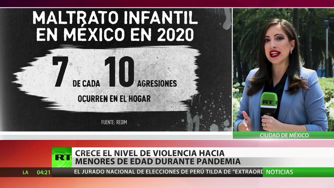 México: Aumenta el nivel de violencia hacia menores de edad durante la pandemia