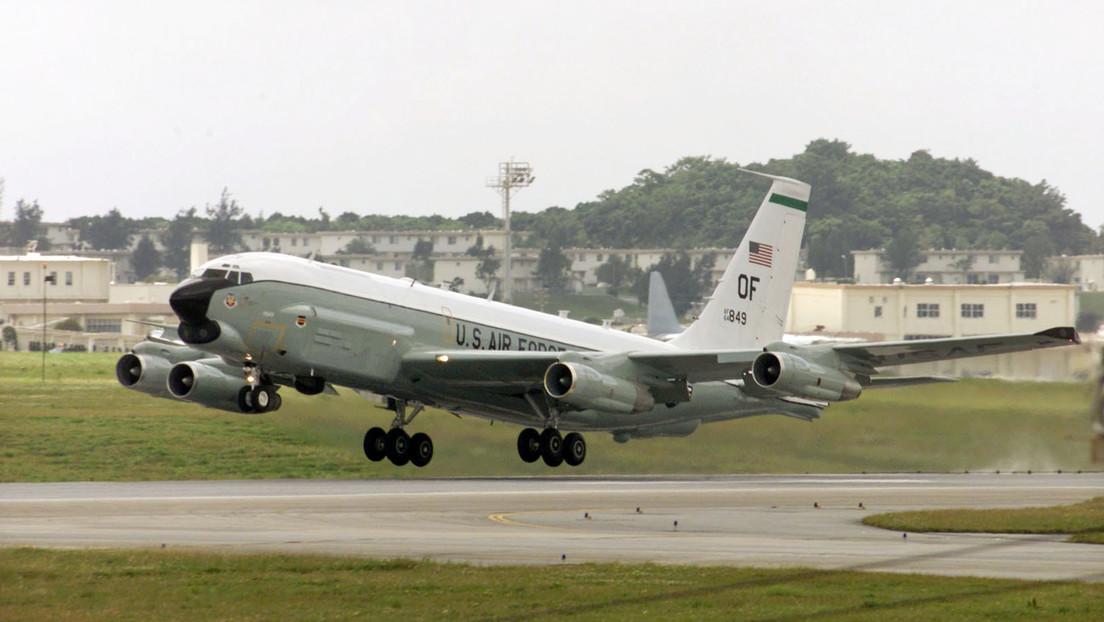 Un caza detecta un avión espía de EE.UU. cerca de la frontera rusa en el Pacífico y lo escolta