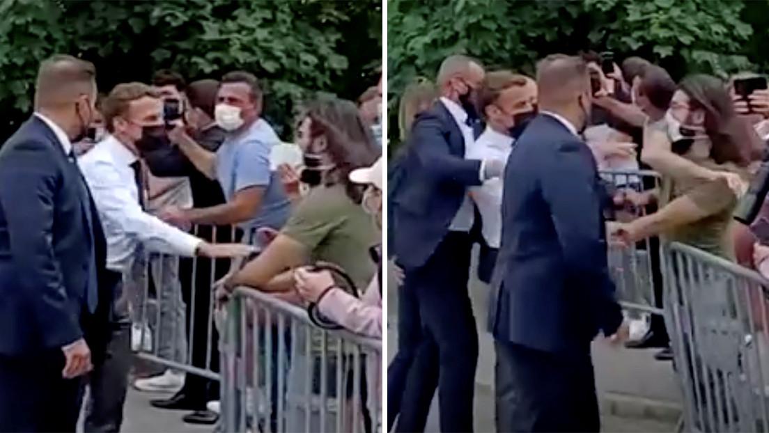 """El hombre que abofeteó al presidente de Francia afirma ante un tribunal que Macron representa """"el declive del país"""""""