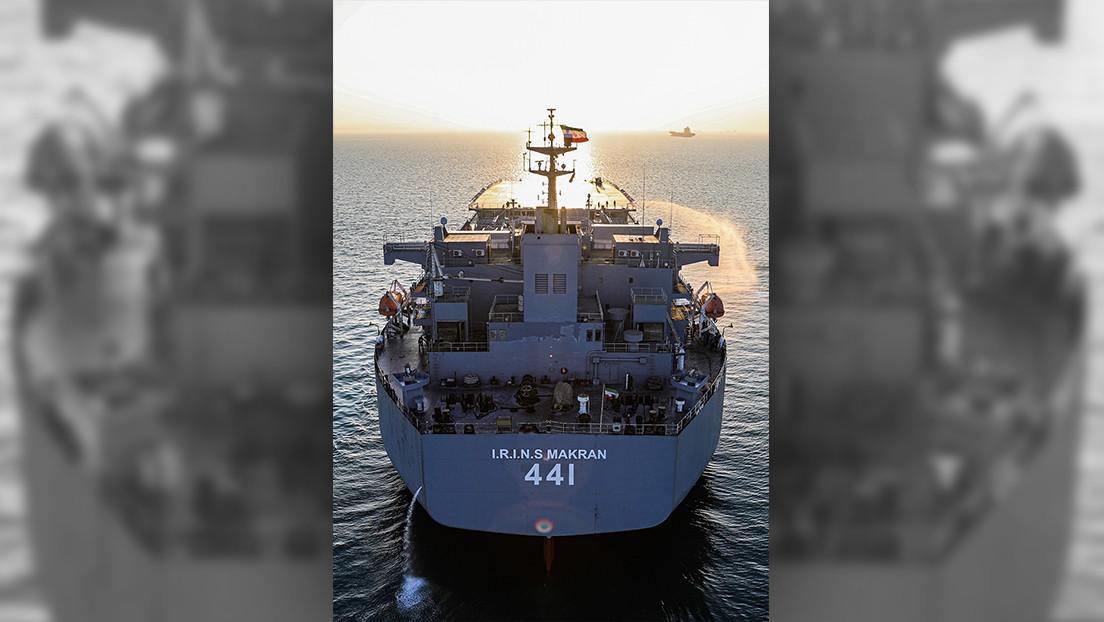 VIDEO: Buques de guerra de Irán entran por primera vez en la historia en el océano Atlántico