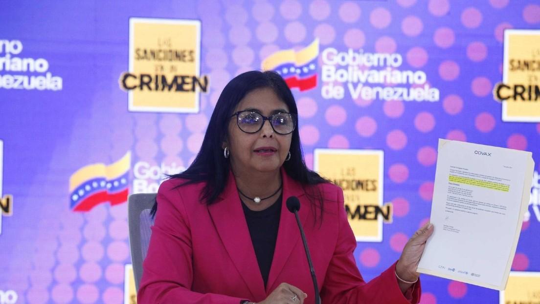 Venezuela denuncia que últimos pagos al mecanismo Covax fueron bloqueados por el banco suizo UBS