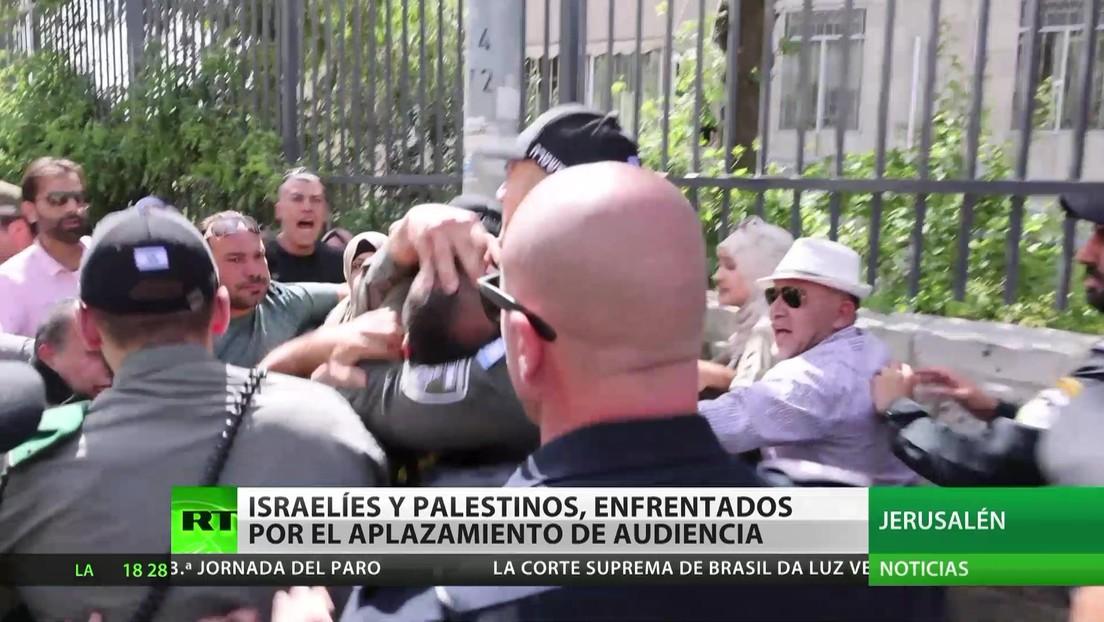 Israelíes y palestinos, enfrentados por el aplazamiento de la audiencia sobre los desalojos