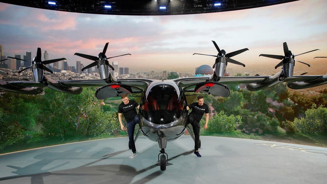 VIDEO, FOTOS: Archer Aviation presenta un espectacular taxi volador 100 % eléctrico