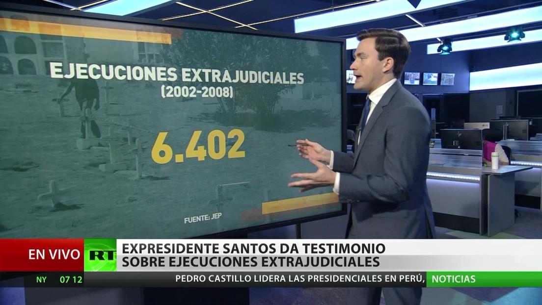 Colombia: El expresidente Santos testifica sobre ejecuciones extrajudiciales durante el gobierno de Uribe