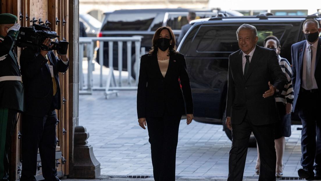 Más allá del asunto migratorio: los temas difíciles de la discreta reunión entre López Obrador y Kamala Harris