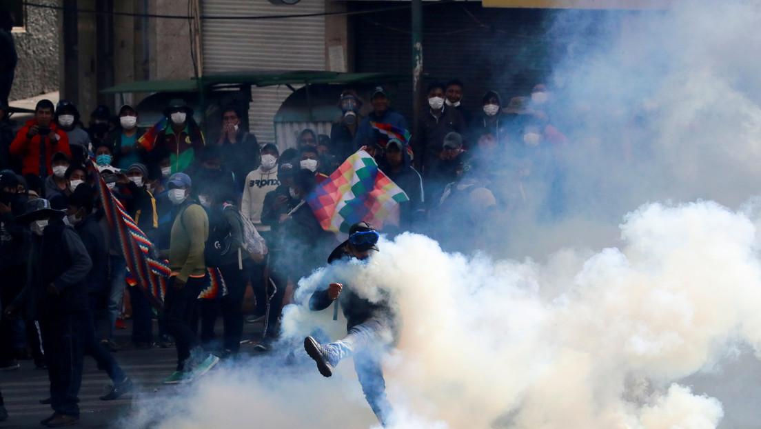 Exministro del gobierno de facto de Jeanine Áñez en Bolivia admite que en esa administración se aprobó la compra de gases lacrimógenos con sobreprecio