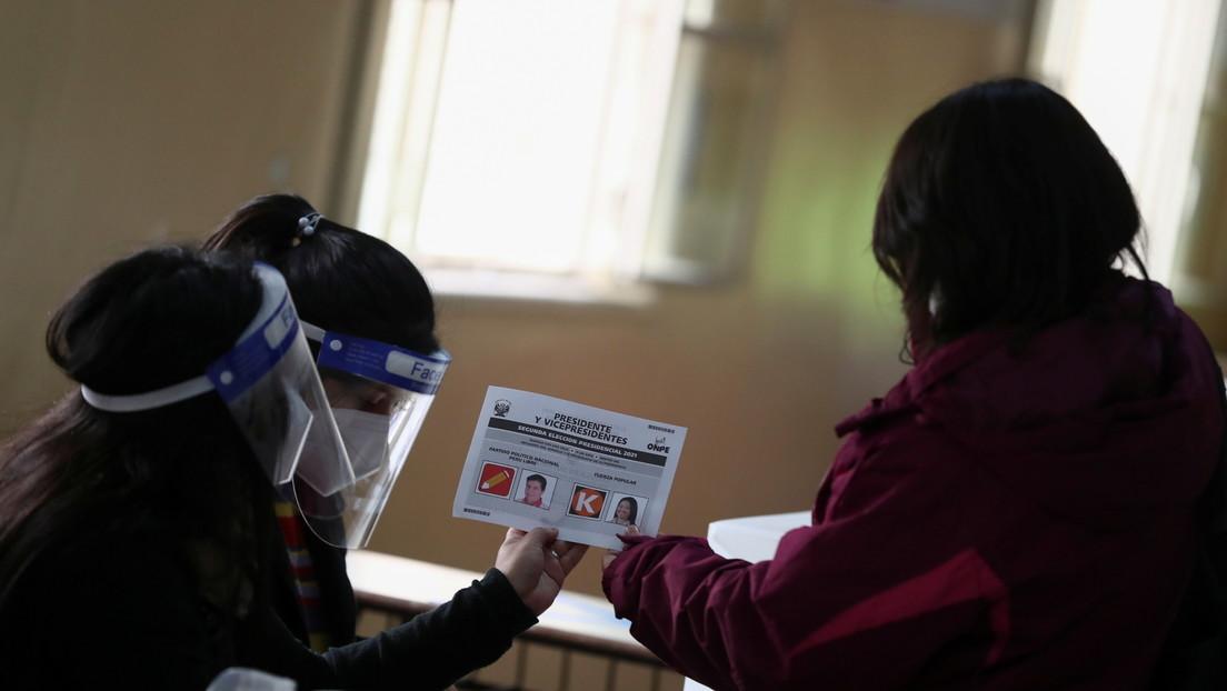 Reportan que el Jurado Nacional de Elecciones de Perú amplió el plazo para recibir solicitudes de nulidad de actas