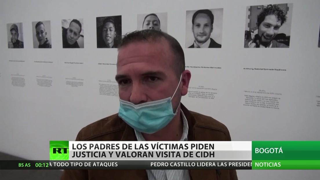 Colombia: Los padres de las víctimas durante las protestas piden justicia y valoran la visita de la CIDH