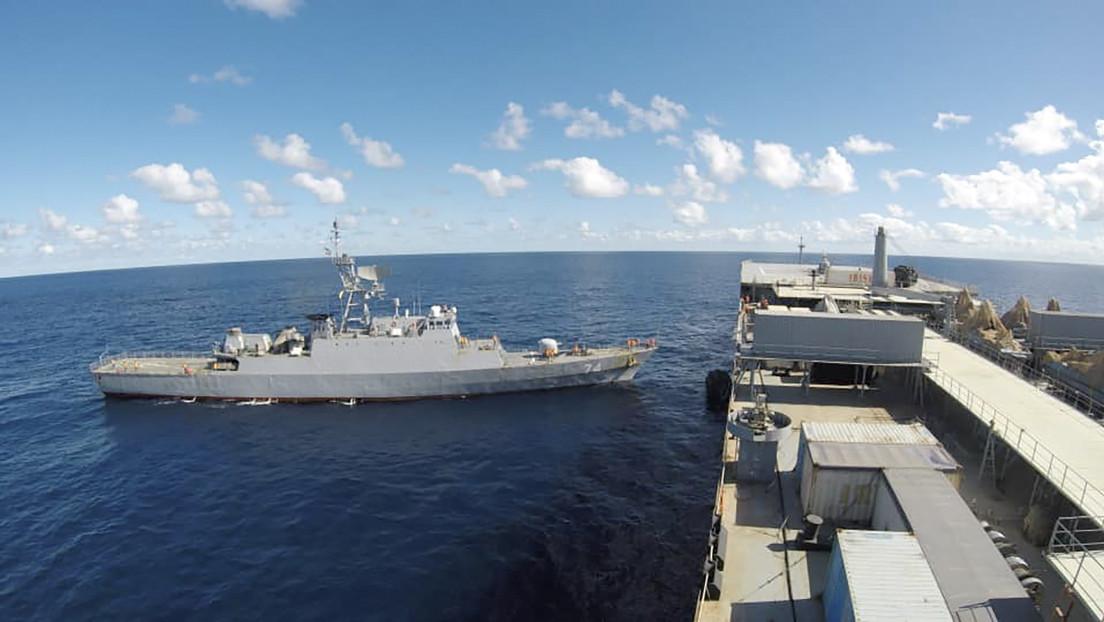 """EE.UU. """"no pierde de vista"""" los buques de guerra de Irán en el Atlántico"""