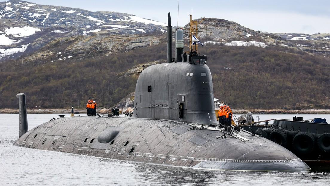 Viaje al interior del nuevo submarino ruso de ataque de propulsión nuclear (VIDEO)