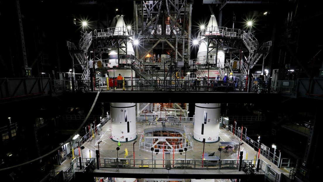 La NASA muestra por primera vez ensamblado su cohete más potente