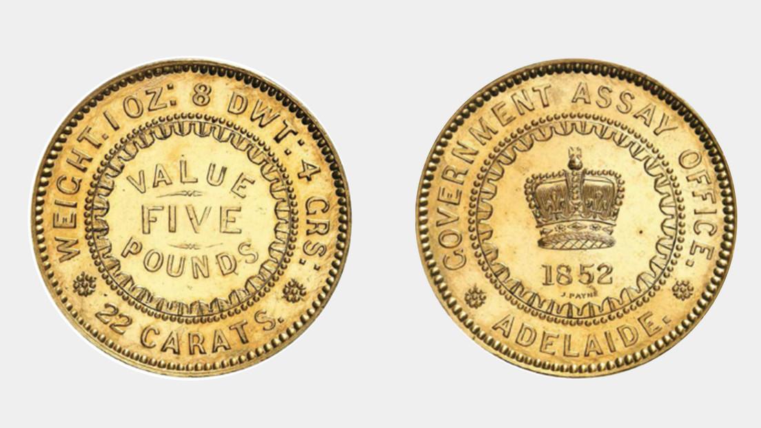 Dos raras monedas australianas baten récords en una subasta al venderse por 1,5 millones de dólares cada una