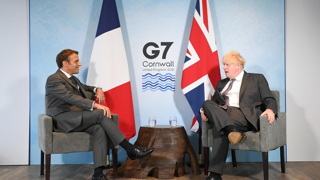 Boris Johnson se molesta después de que Macron insinúe que Irlanda del Norte no es parte del Reino Unido