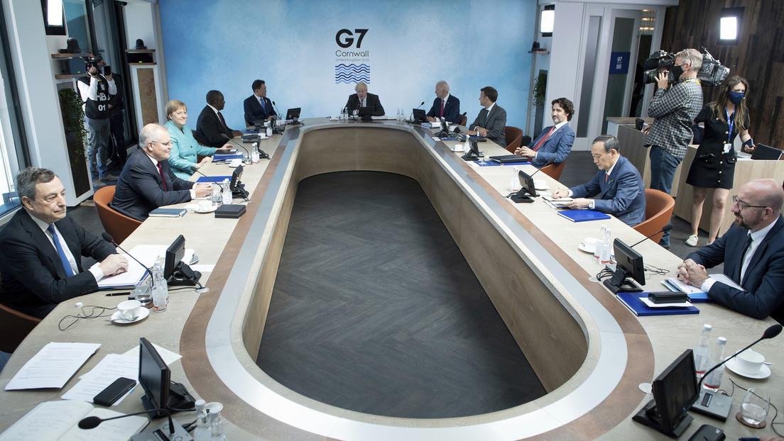 Líderes del G7 acuerdan reducir a cero las emisiones netas de carbono para 2050