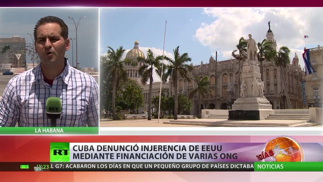 Cuba denunció la injerencia de EE.UU. mediante  la financiación de varias ONG