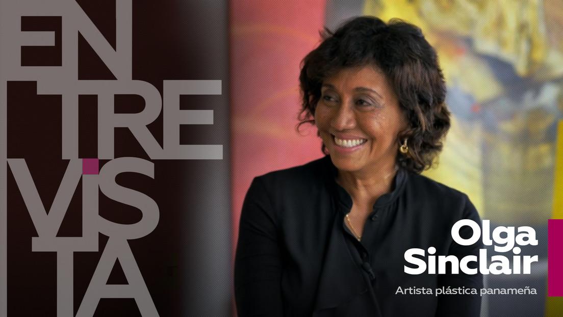 """Olga Sinclair, artista plástica panameña: """"Ser un artista en Panamá es una cosa heroica"""""""