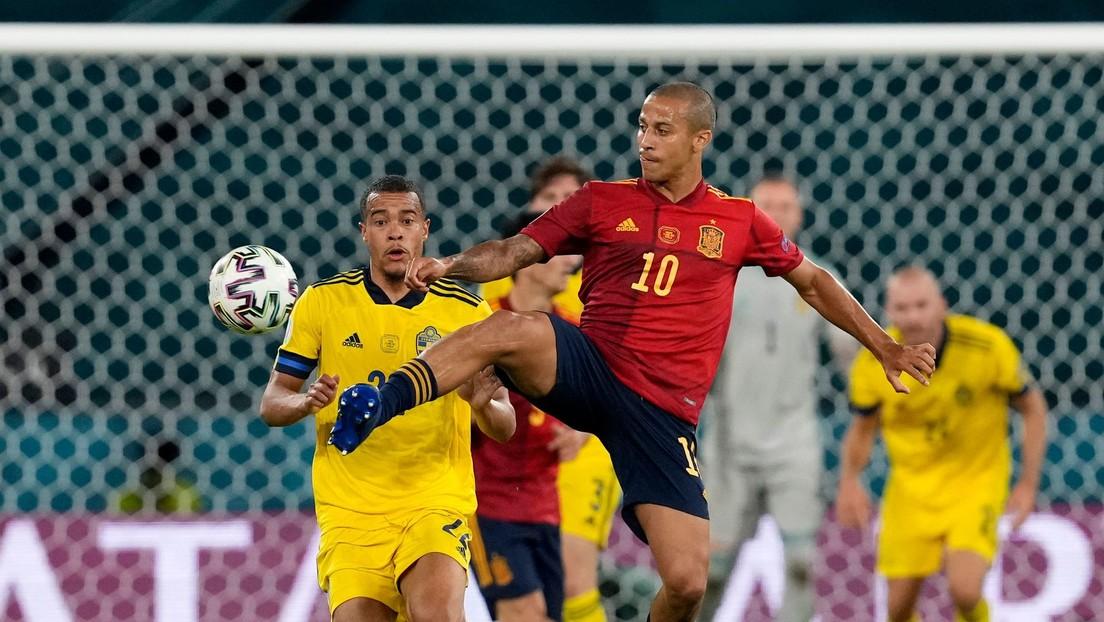 España y Suecia empatan sin goles por el grupo E de la Eurocopa