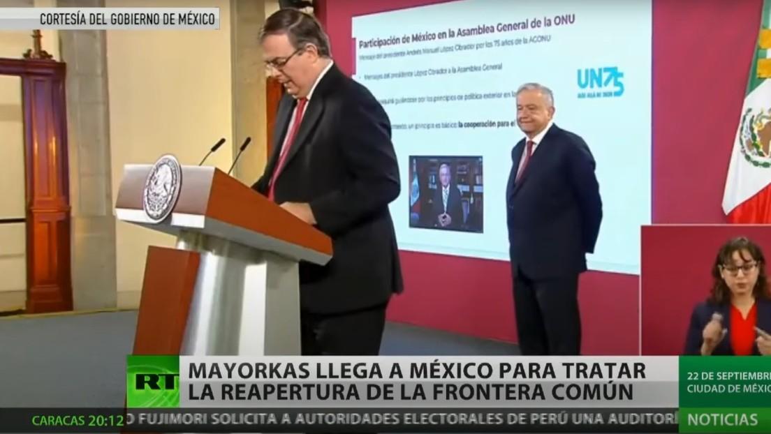 El secretario de Seguridad Nacional de EE.UU. llega a México para tratar el tema de la migración y la reapertura de la frontera común