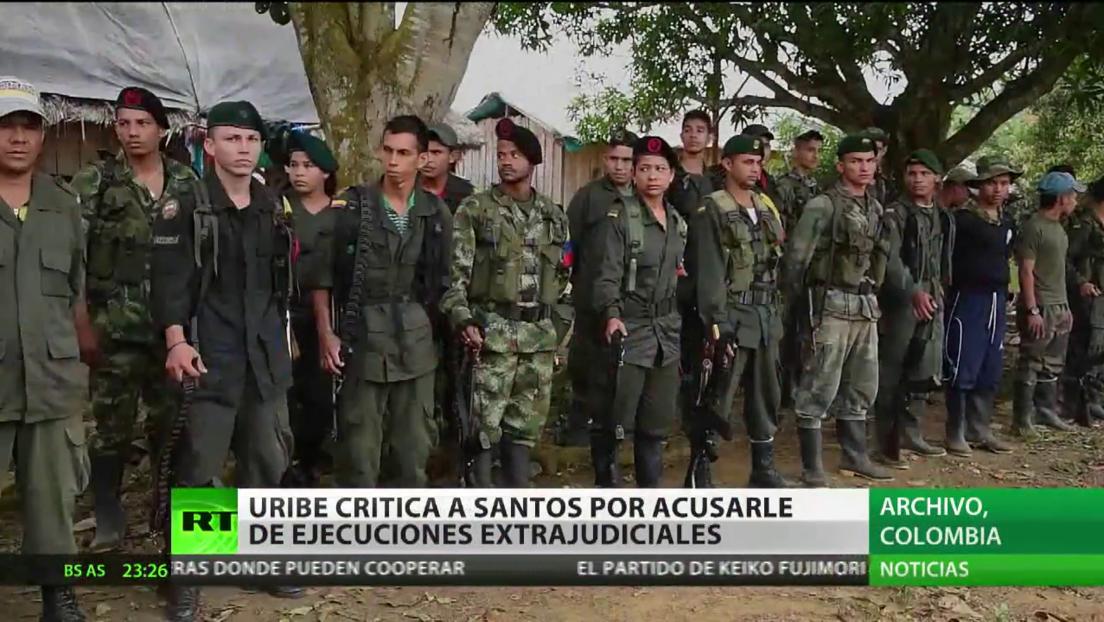 Uribe critica a Santos por acusarle de ejecuciones extrajudiciales