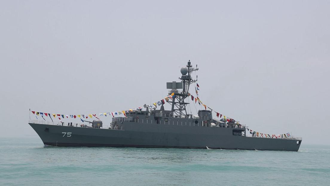 VIDEO: Así son el nuevo destructor y dragaminas que recibió la Armada iraní