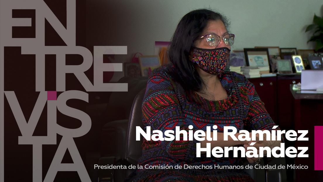 """Presidenta de la Comisión de DD.HH. de Ciudad de México: """"La pandemia hace más evidentes las desigualdades que ya existían antes de la covid"""""""