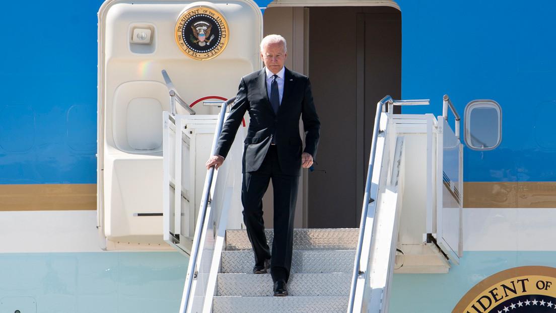 VIDEO: Biden llega a Ginebra, en vísperas de la cumbre con Putin