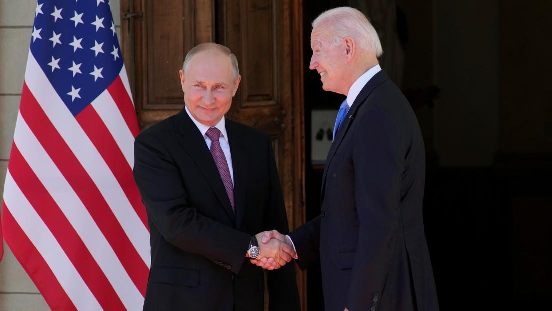 VIDEO: Putin y Biden se estrechan las manos al llegar a la Villa La Grange en Ginebra