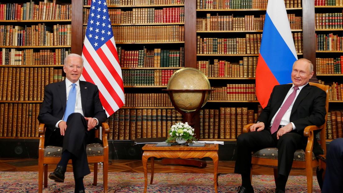 Finaliza en Ginebra la primera cumbre entre Putin y Biden