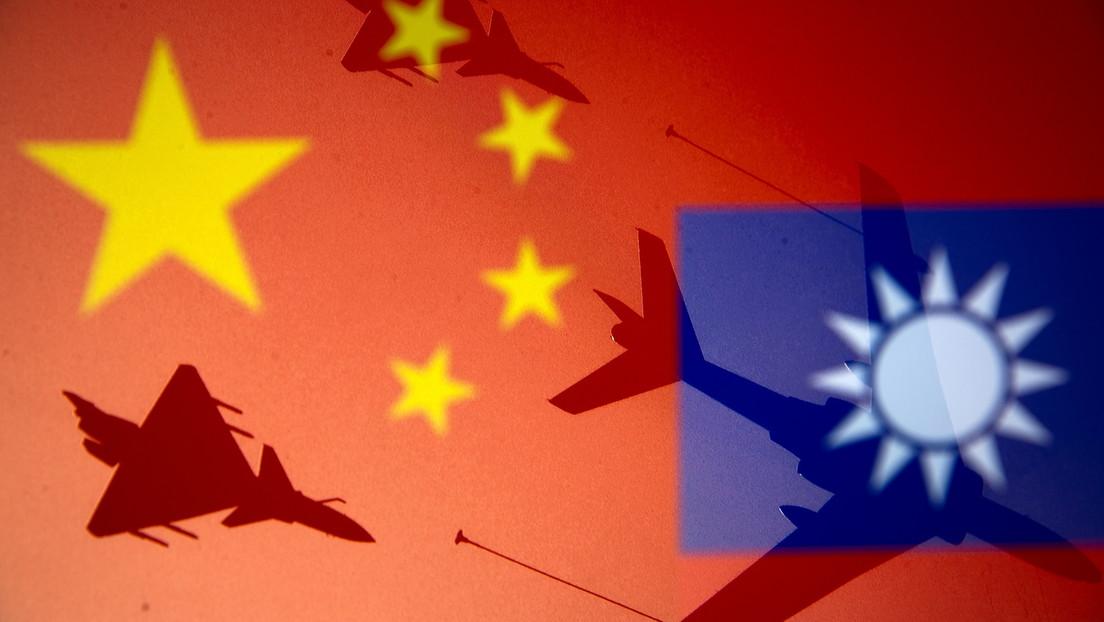"""China: """"No toleraremos los esfuerzos de buscar la independencia ni intervenciones desenfrenadas en el asunto de Taiwán por fuerzas extranjeras"""""""