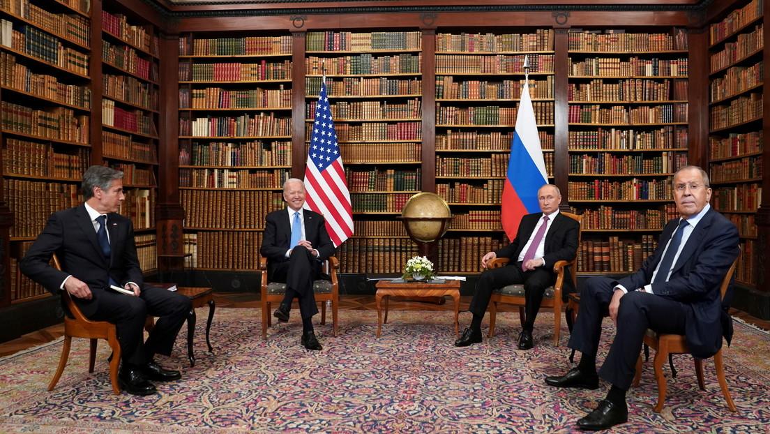 VIDEO: Primeras palabras de Putin y Biden durante su reunión en Ginebra