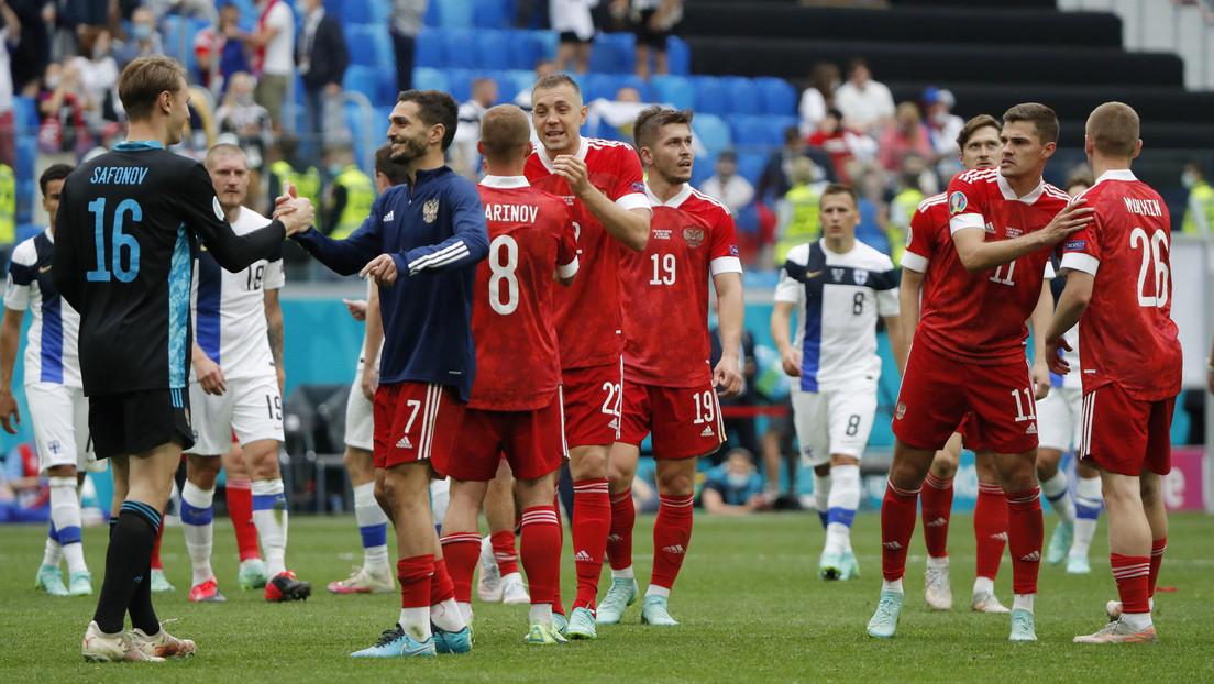 Rusia obtiene una importante victoria ante Finlandia y mantiene sus aspiraciones para pasar a la siguiente fase de la Eurocopa 2020